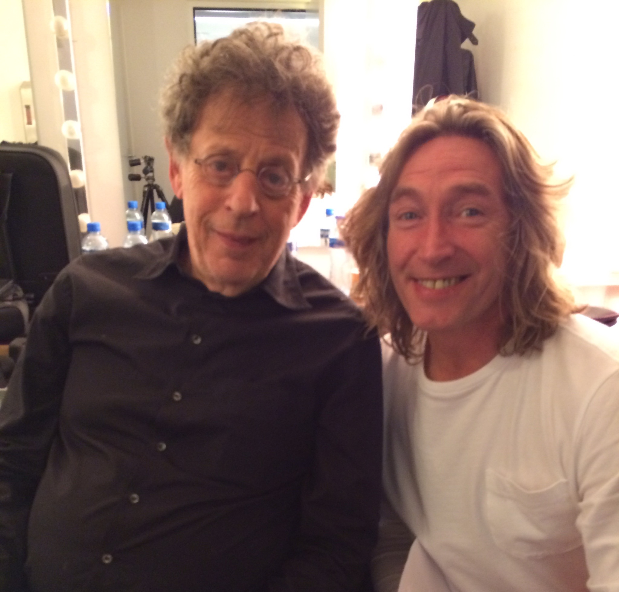 Mike Garry and Philip Glass